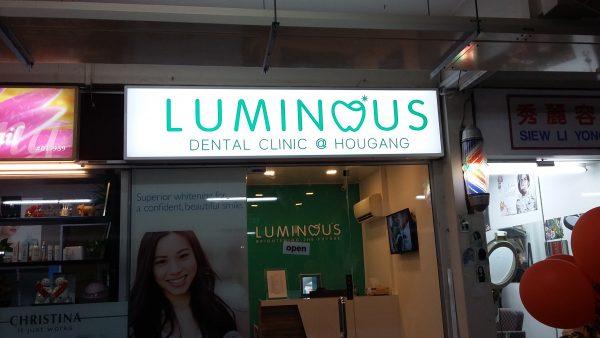 Classic Lightbox Sign