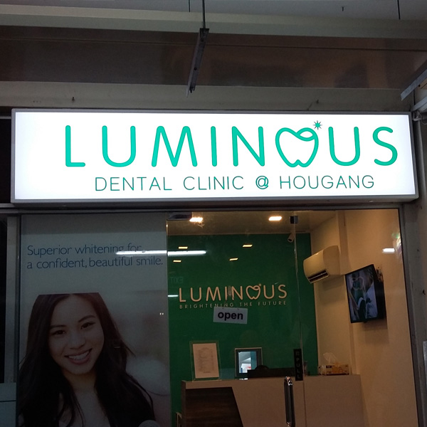 Luminous Dental Lightbox
