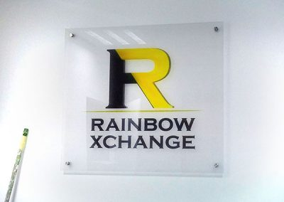 Rainbox Xchange Sign