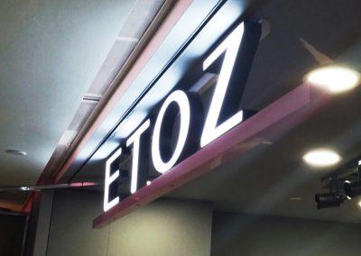3D Signage Frontlit