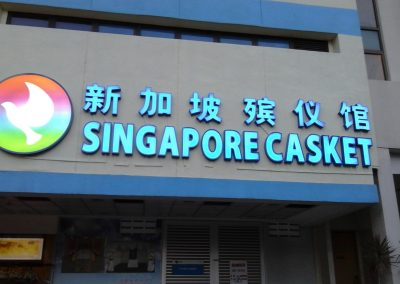 3D Signage Front-lit