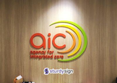 AIC signage