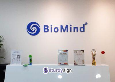 Biomind 3D Acrylic Signage