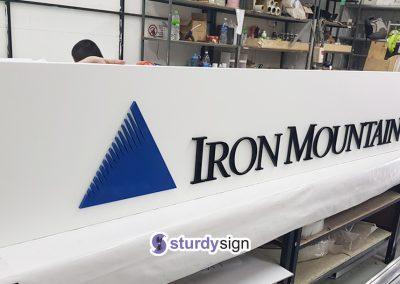 Iron Mountain Signage