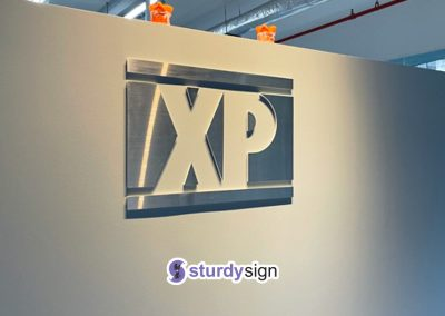 Stainless Steel Laser Cut Signage