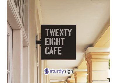 Suspended walkway signage supplier