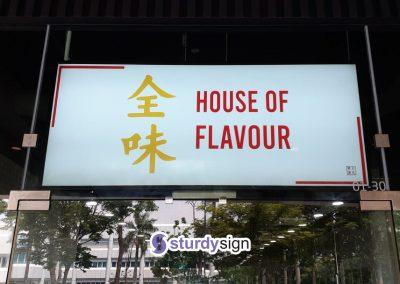 Lightbox signage singapore
