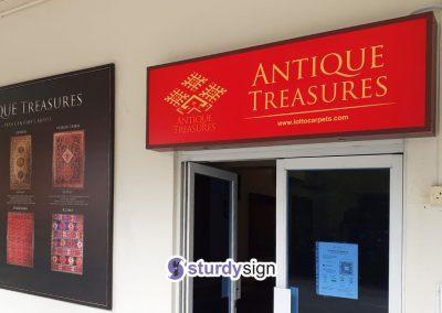 Antique Treasures Lightbox